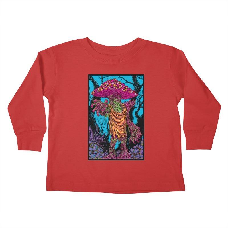 MATANGO  Kids Toddler Longsleeve T-Shirt by Nick the Hat