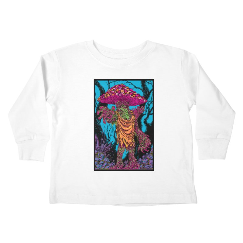MATANGO  Kids Toddler Longsleeve T-Shirt by Nick the Hat