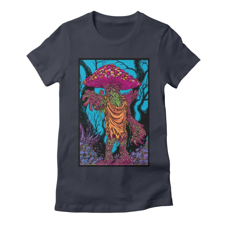 MATANGO  Women's Fitted T-Shirt by Nick the Hat