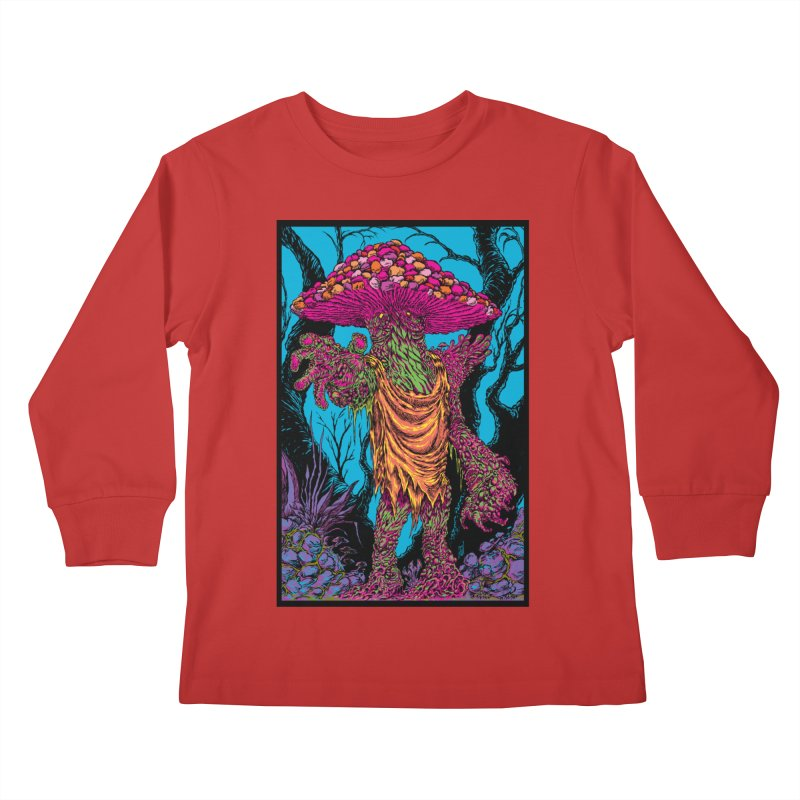 MATANGO  Kids Longsleeve T-Shirt by Nick the Hat