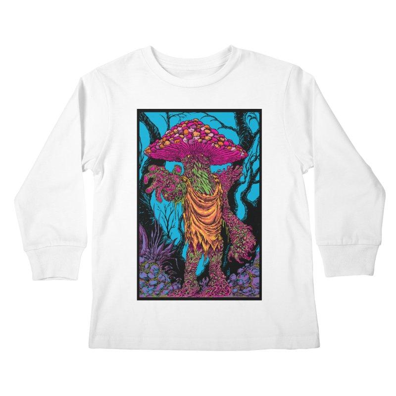 MATANGO  Kids Longsleeve T-Shirt by Nick the Hat