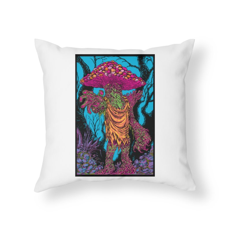 MATANGO  Home Throw Pillow by Nick the Hat