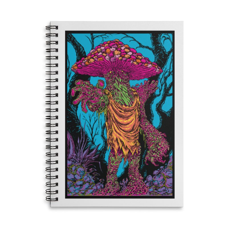 MATANGO  Accessories Lined Spiral Notebook by Nick the Hat