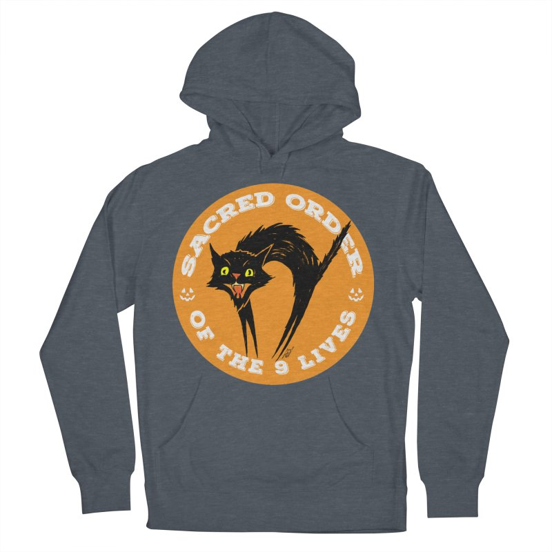 Sacred Order of the 9 Lives Women's Pullover Hoody by Nick the Hat