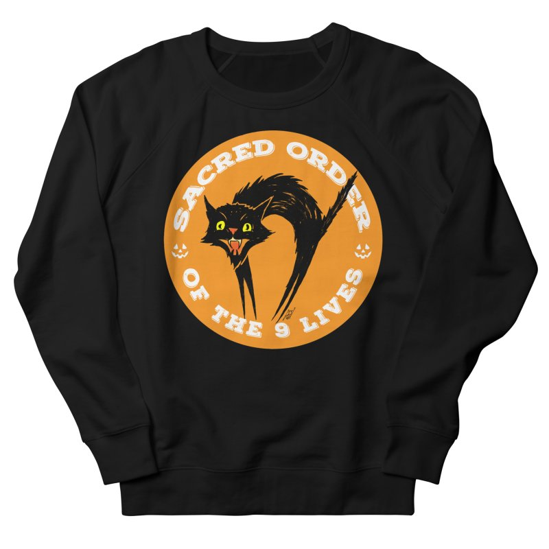 Sacred Order of the 9 Lives Men's Sweatshirt by Nick the Hat
