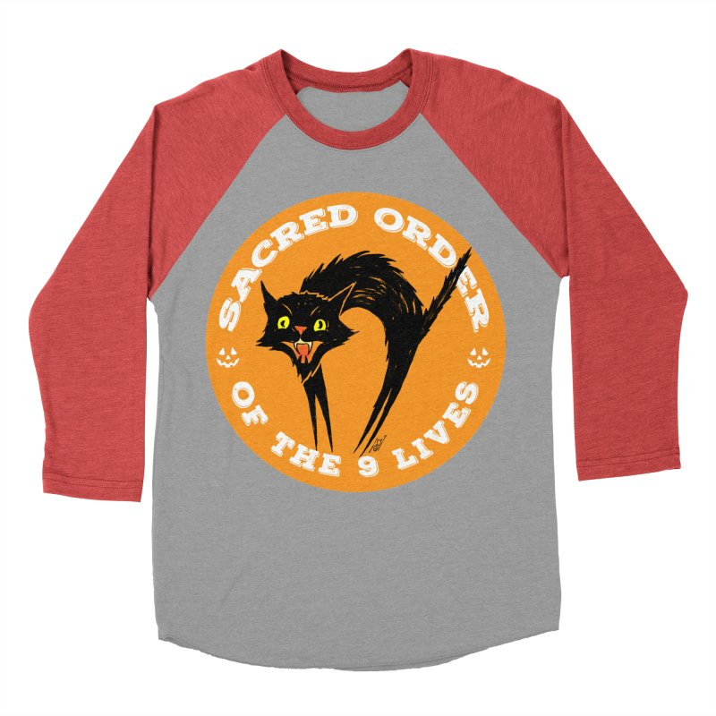 Sacred Order of the 9 Lives Men's Longsleeve T-Shirt by Nick the Hat