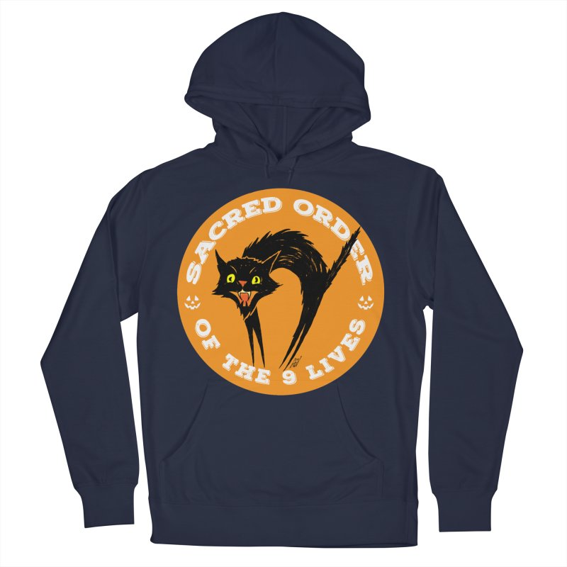 Sacred Order of the 9 Lives Men's Pullover Hoody by Nick the Hat