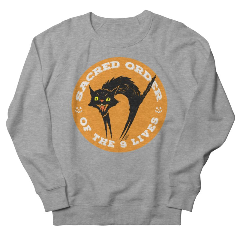 Sacred Order of the 9 Lives Women's Sweatshirt by Nick the Hat