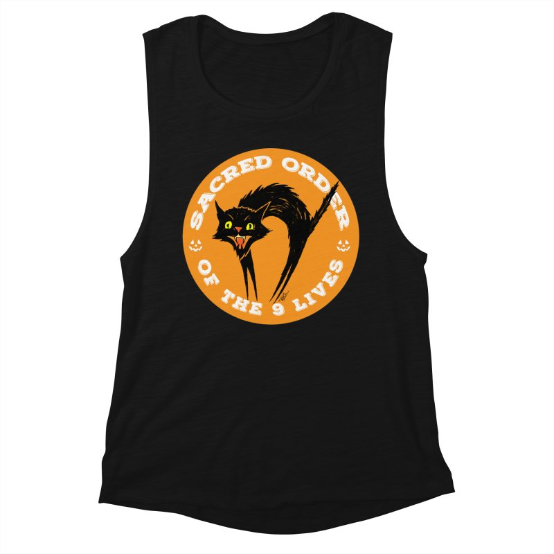 Sacred Order of the 9 Lives Women's Tank by Nick the Hat