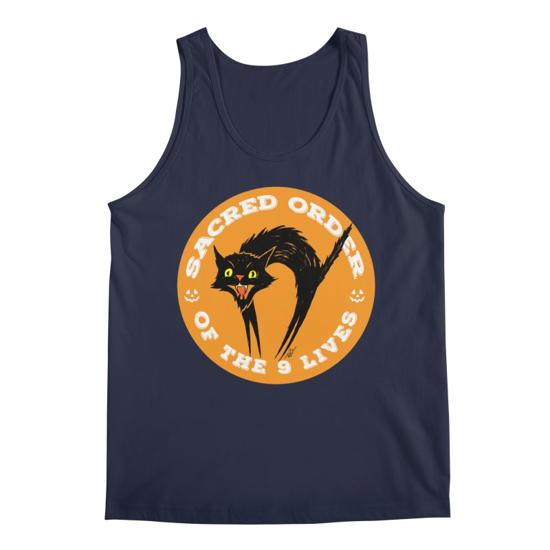 Sacred Order of the 9 Lives Men's Tank by Nick the Hat