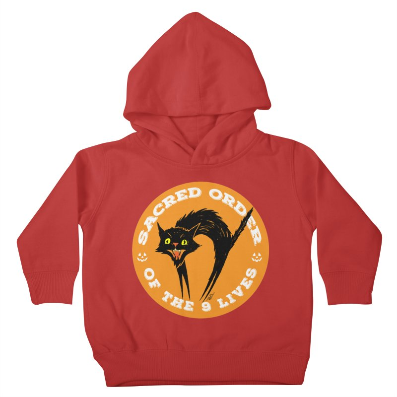 Sacred Order of the 9 Lives Kids Toddler Pullover Hoody by Nick the Hat