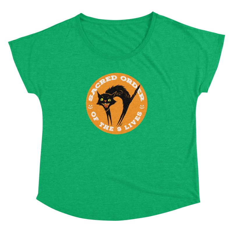 Sacred Order of the 9 Lives Women's Dolman by Nick the Hat