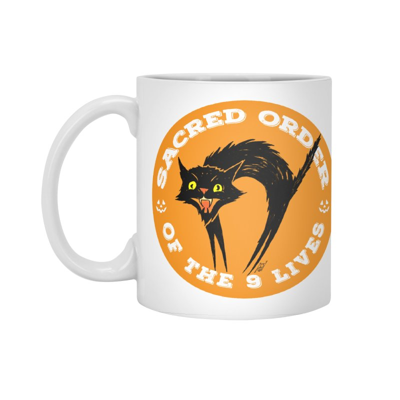 Sacred Order of the 9 Lives Accessories Standard Mug by Nick the Hat