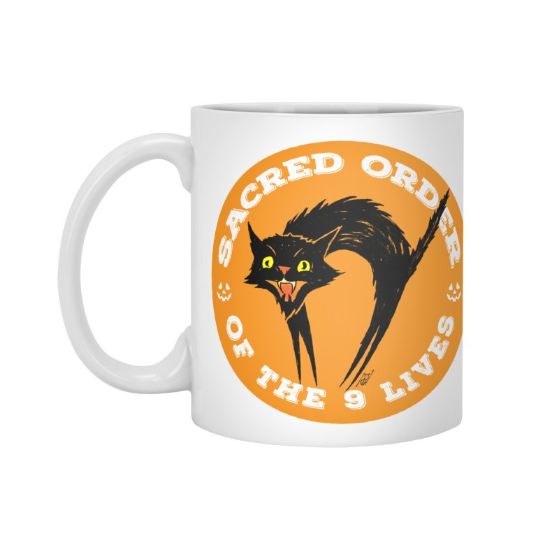 Sacred Order of the 9 Lives Accessories Mug by Nick the Hat