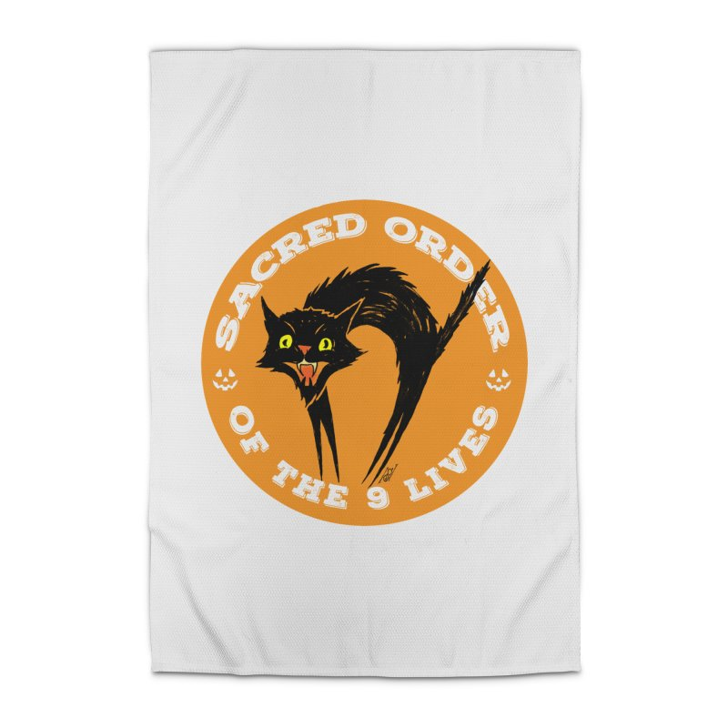 Sacred Order of the 9 Lives Home Rug by Nick the Hat