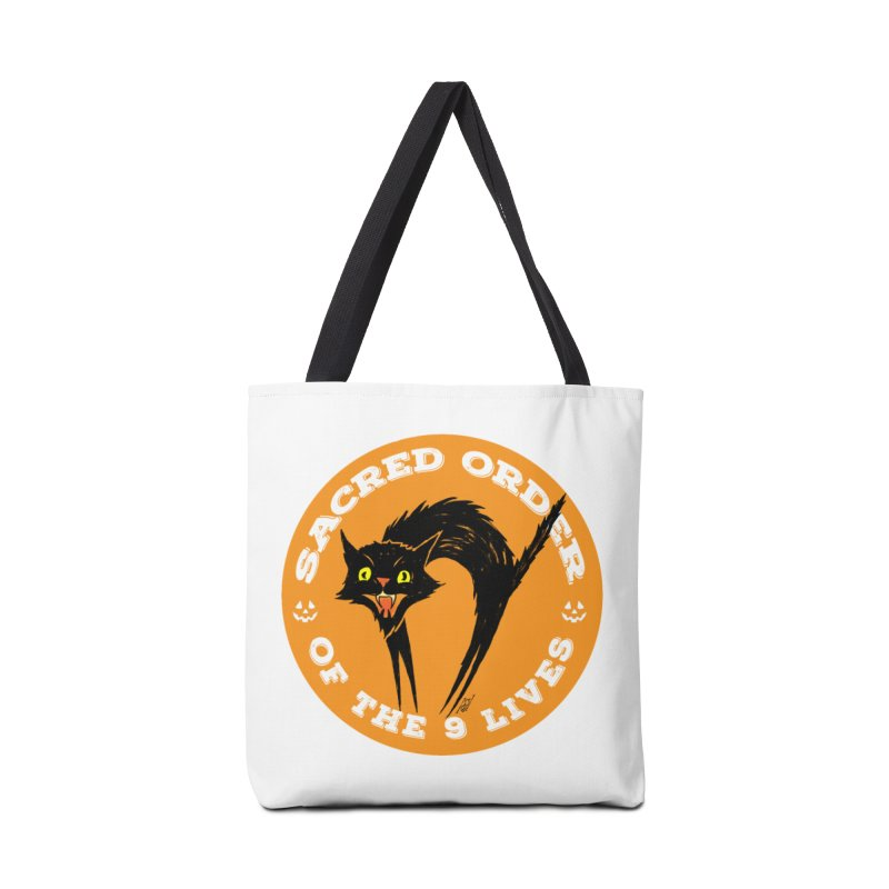 Sacred Order of the 9 Lives Accessories Bag by Nick the Hat
