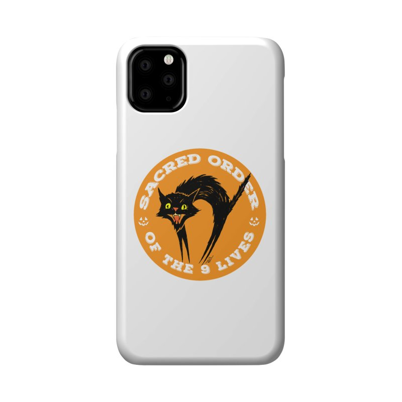 Sacred Order of the 9 Lives Accessories Phone Case by Nick the Hat