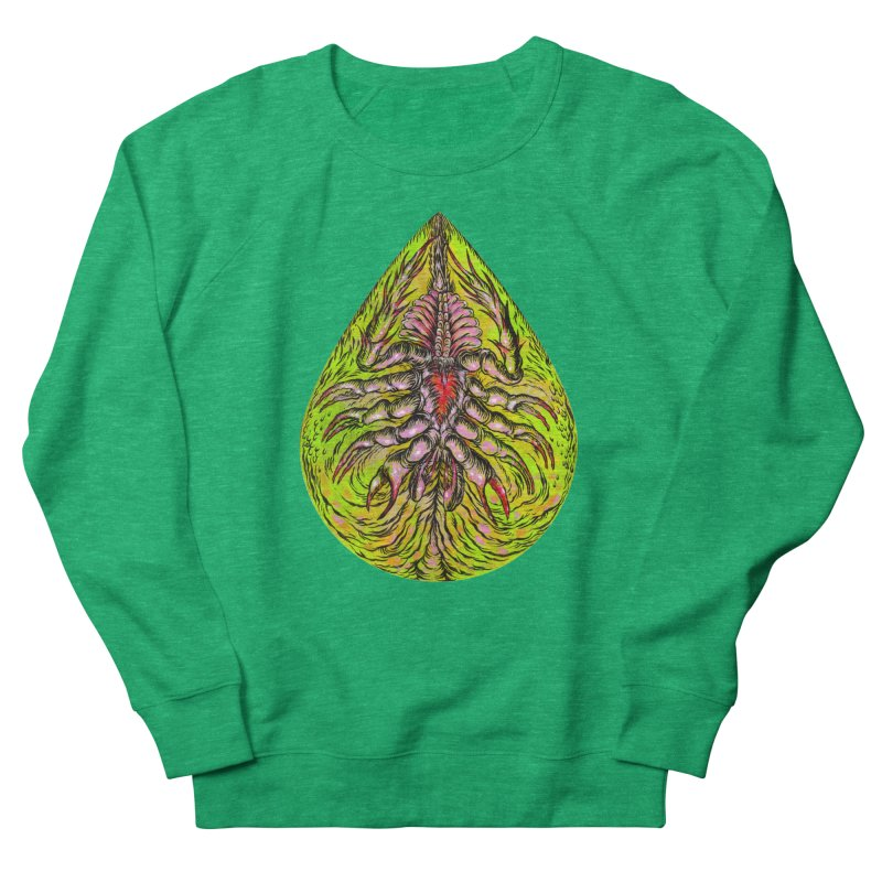 Scrambly Amebocyte Women's Sweatshirt by Nick the Hat