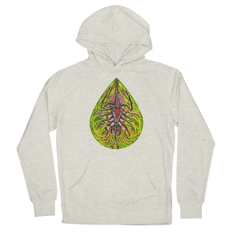 Scrambly Amebocyte Men's Pullover Hoody by Nick the Hat