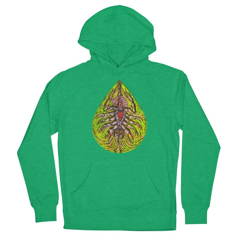 Scrambly Amebocyte Women's Pullover Hoody by Nick the Hat