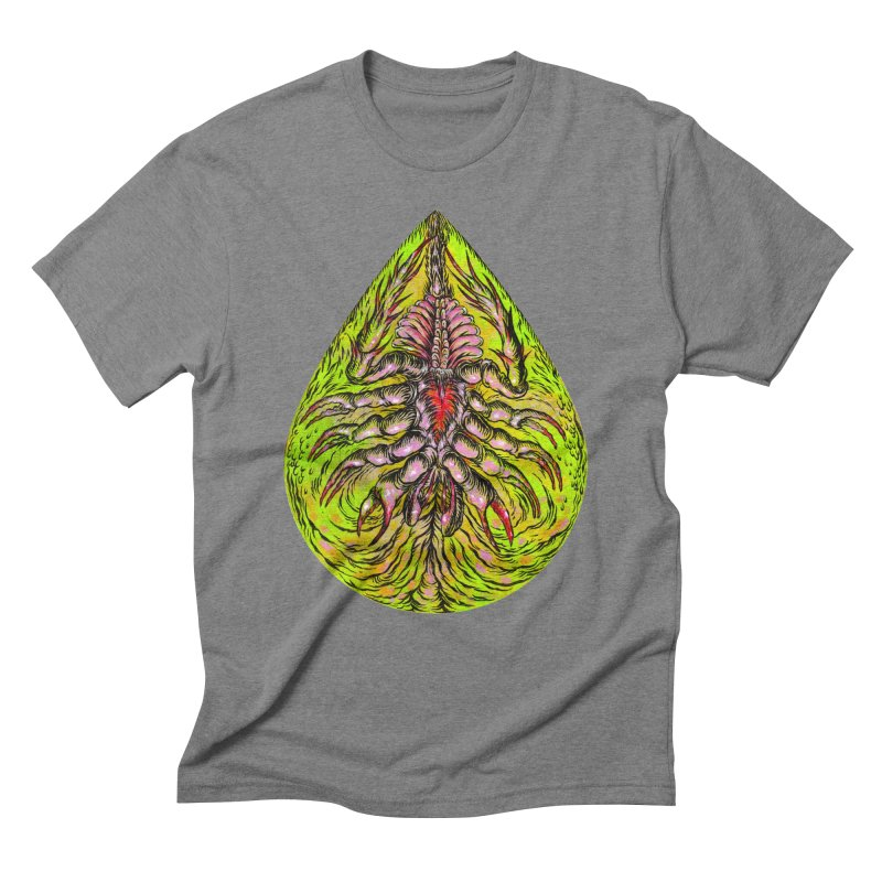 Scrambly Amebocyte Men's Triblend T-Shirt by Nick the Hat