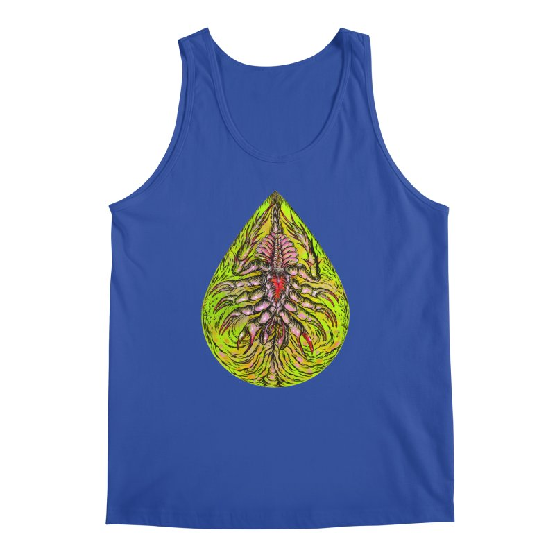 Scrambly Amebocyte Men's Regular Tank by Nick the Hat