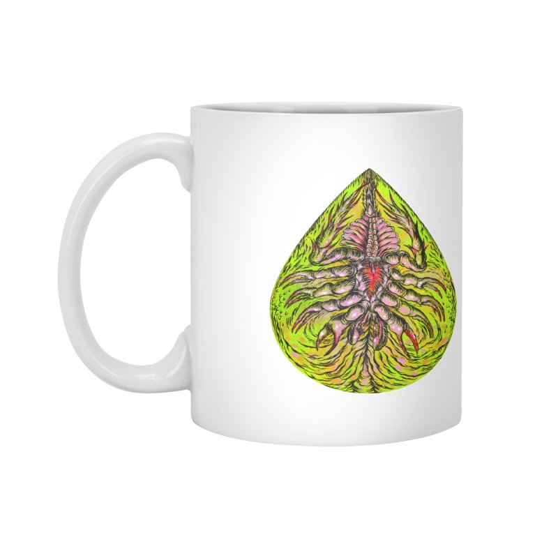 Scrambly Amebocyte Accessories Mug by Nick the Hat