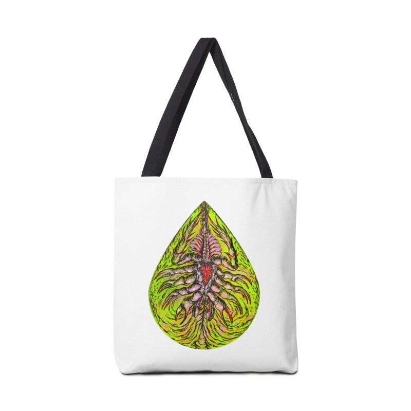 Scrambly Amebocyte Accessories Bag by Nick the Hat