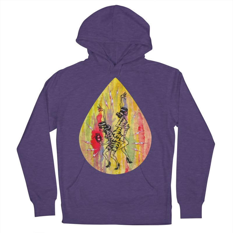 Danger Dames Women's French Terry Pullover Hoody by Nick the Hat