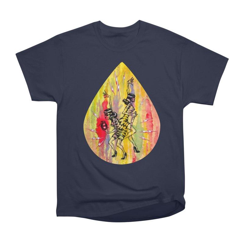Danger Dames Women's Heavyweight Unisex T-Shirt by Nick the Hat