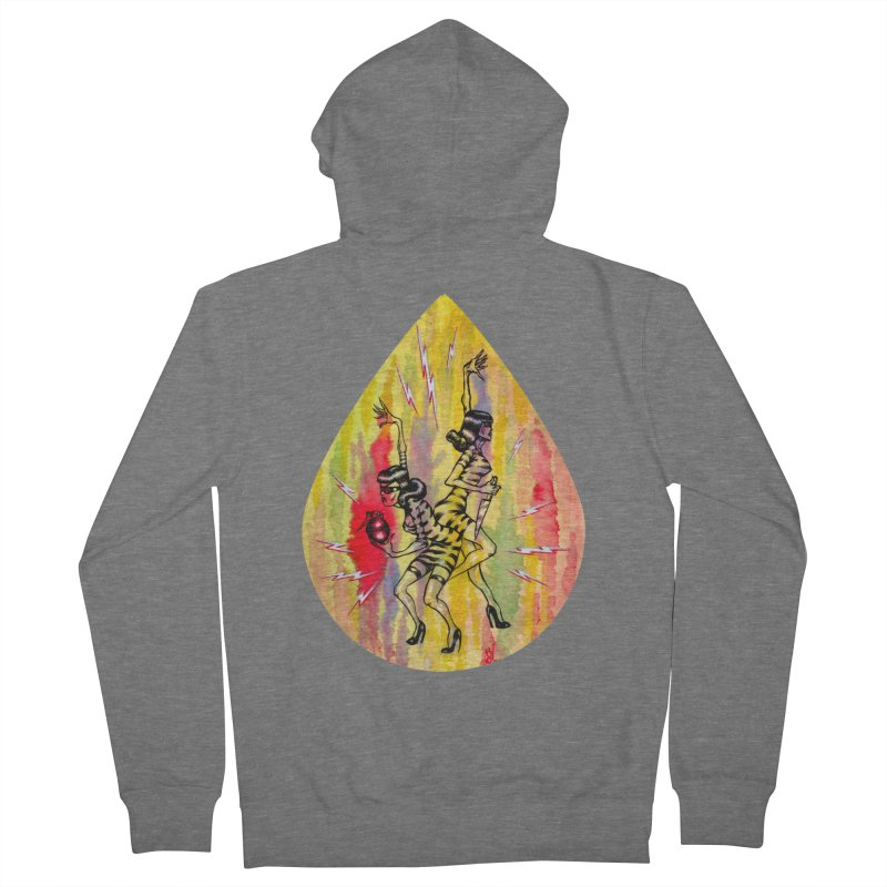 Danger Dames Men's French Terry Zip-Up Hoody by Nick the Hat