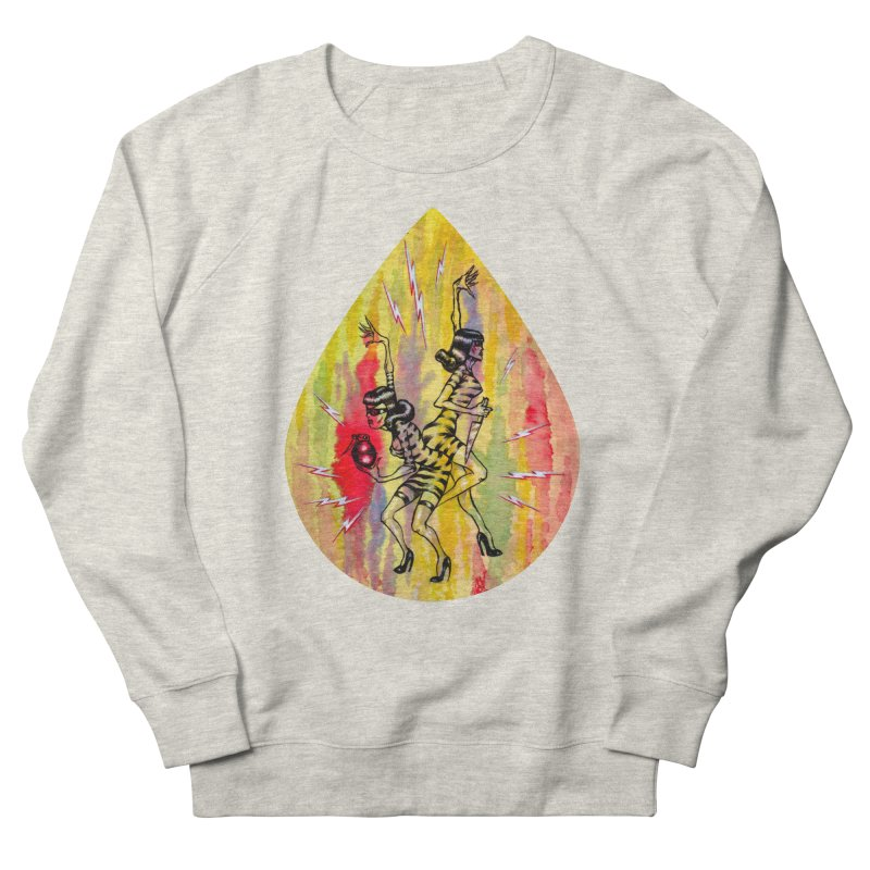 Danger Dames Men's French Terry Sweatshirt by Nick the Hat