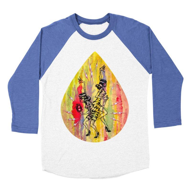 Danger Dames Men's Baseball Triblend Longsleeve T-Shirt by Nick the Hat