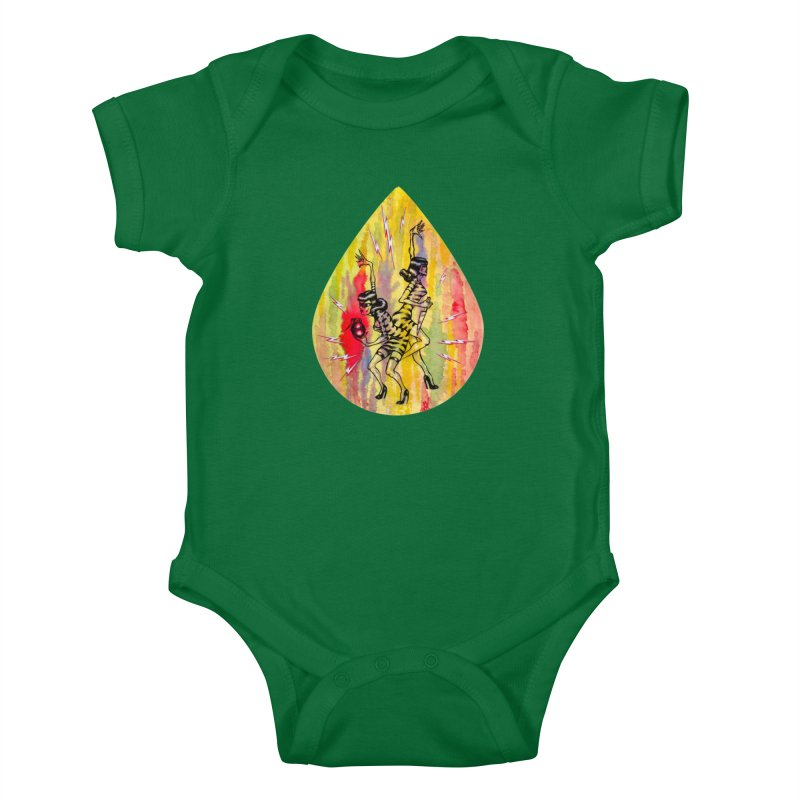 Danger Dames Kids Baby Bodysuit by Nick the Hat