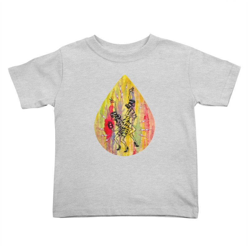 Danger Dames Kids Toddler T-Shirt by Nick the Hat