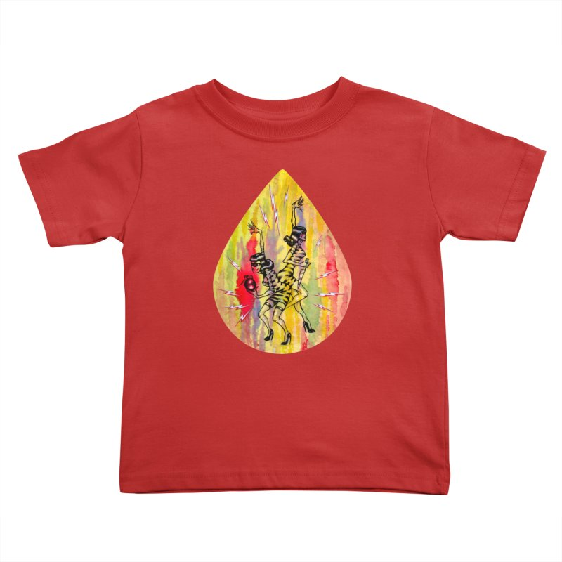 Danger Dames Kids Toddler T-Shirt by Nick the Hat