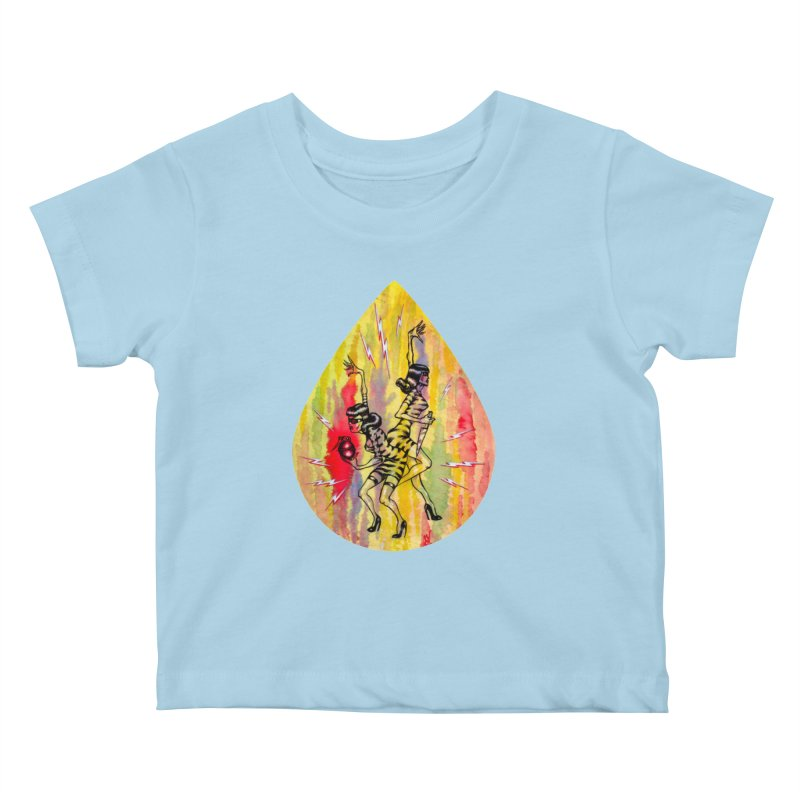Danger Dames Kids Baby T-Shirt by Nick the Hat