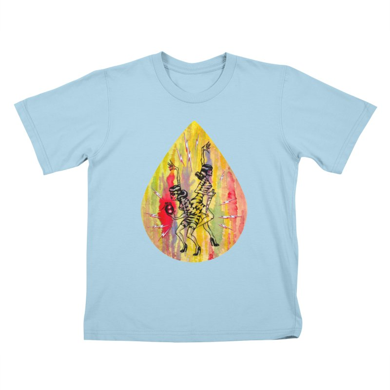 Danger Dames Kids T-Shirt by Nick the Hat