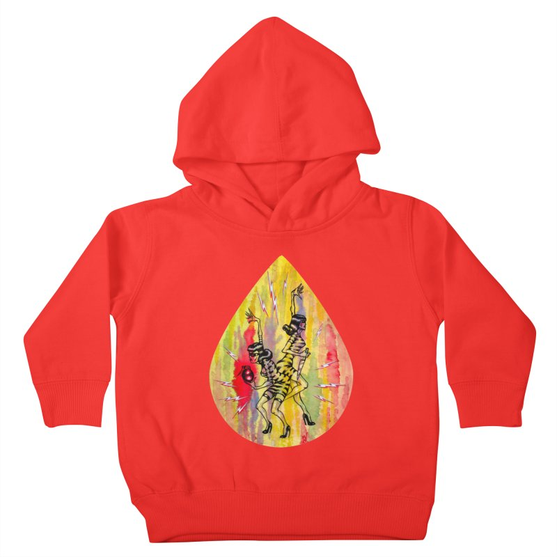 Danger Dames Kids Toddler Pullover Hoody by Nick the Hat