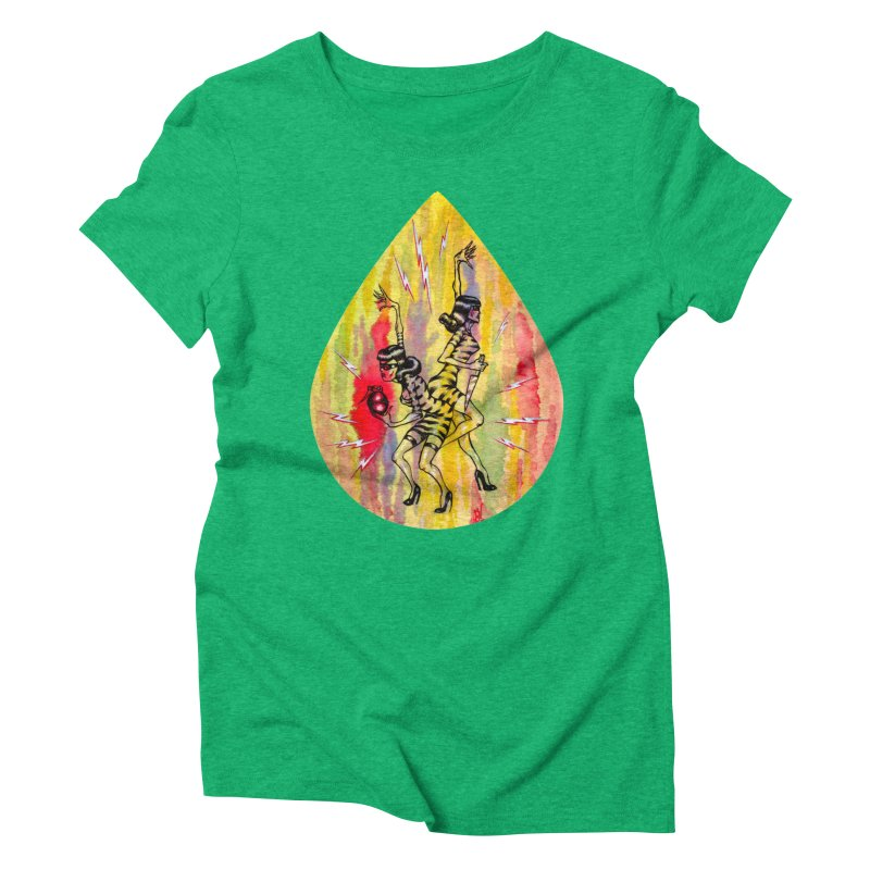 Danger Dames Women's Triblend T-Shirt by Nick the Hat