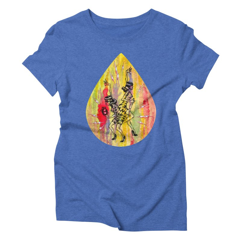 Danger Dames Women's Triblend T-Shirt by Nick the Hat