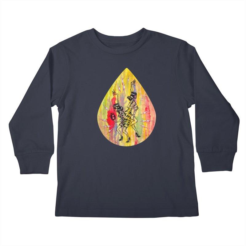 Danger Dames Kids Longsleeve T-Shirt by Nick the Hat