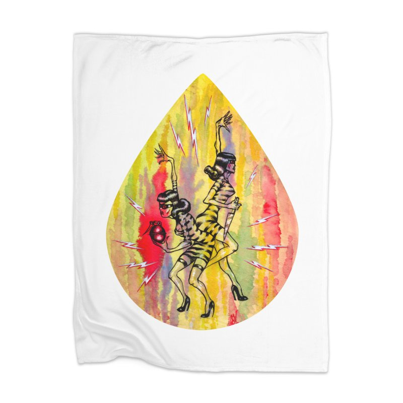 Danger Dames Home Blanket by Nick the Hat