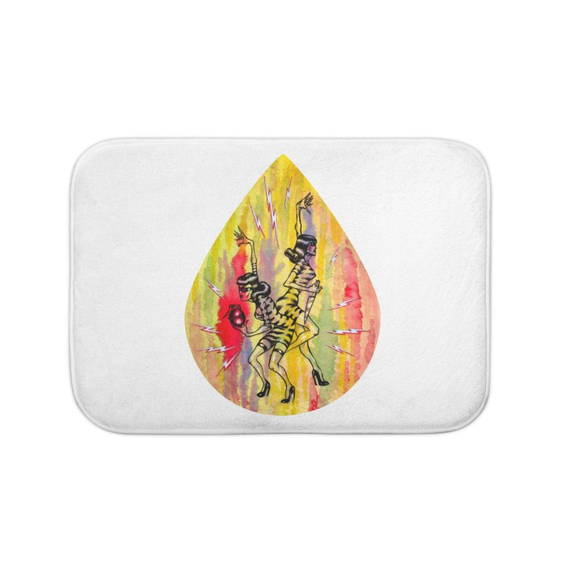 Danger Dames Home Bath Mat by Nick the Hat