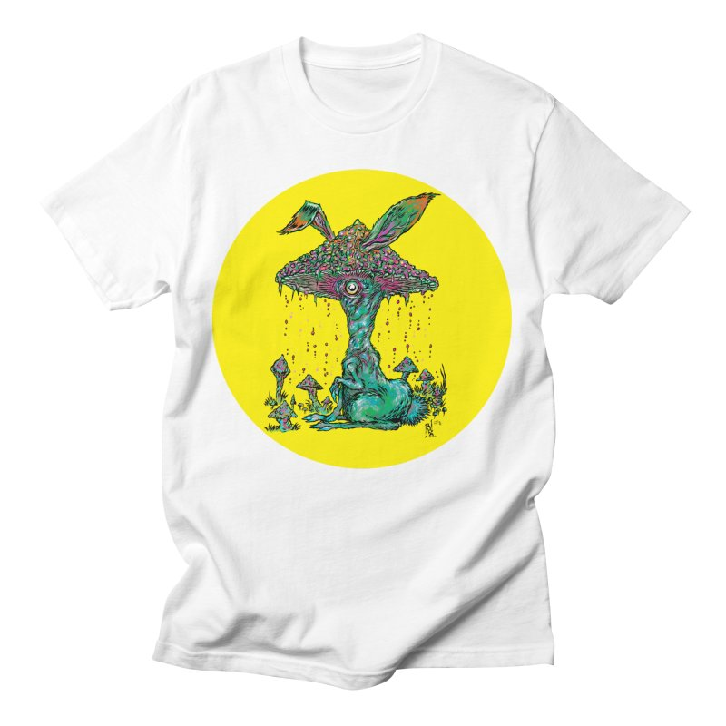 Fungal Bunny Men's T-Shirt by Nick the Hat