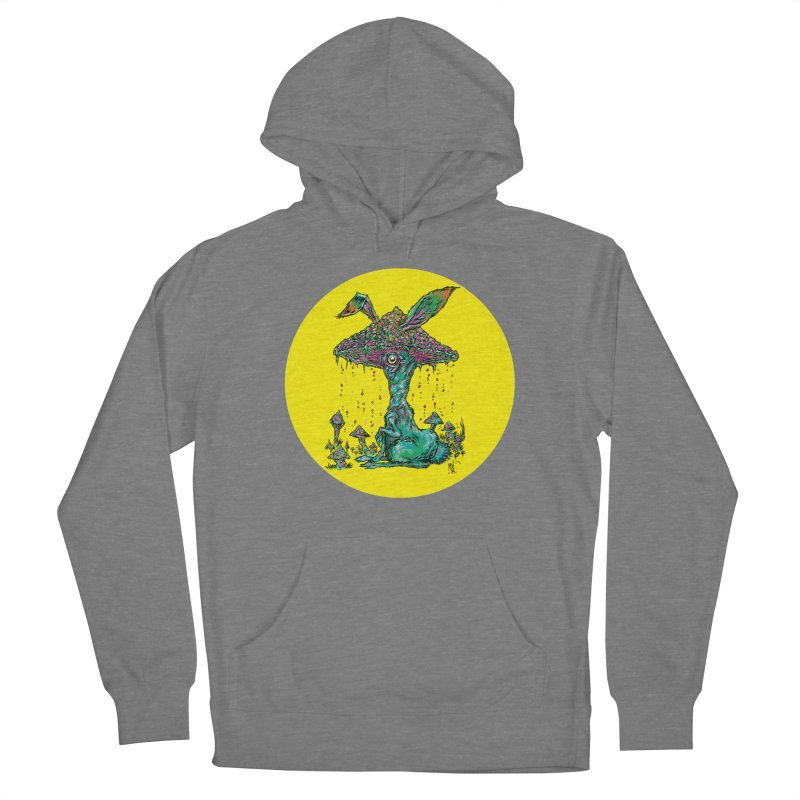 Fungal Bunny Men's Pullover Hoody by Nick the Hat