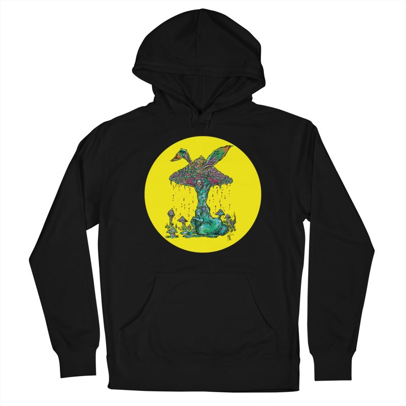 Fungal Bunny Women's Pullover Hoody by Nick the Hat