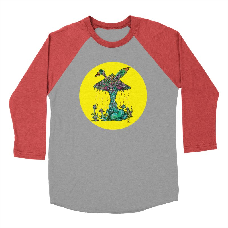 Fungal Bunny Women's Longsleeve T-Shirt by Nick the Hat