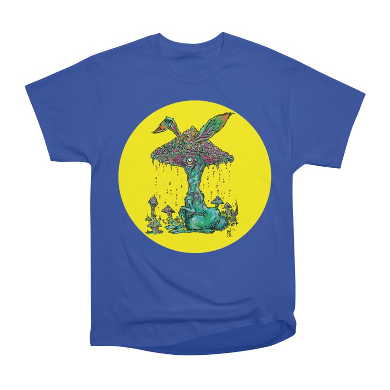 Fungal Bunny Women's Heavyweight Unisex T-Shirt by Nick the Hat