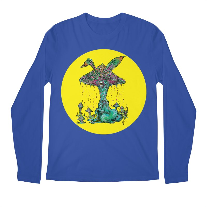 Fungal Bunny Men's Longsleeve T-Shirt by Nick the Hat